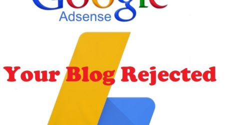 Common Reasons Behind Google Adsense Rejection
