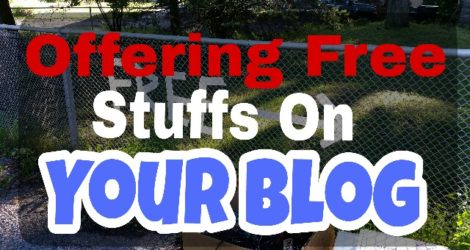 Benefits of Offering Free Stuffs on Blog