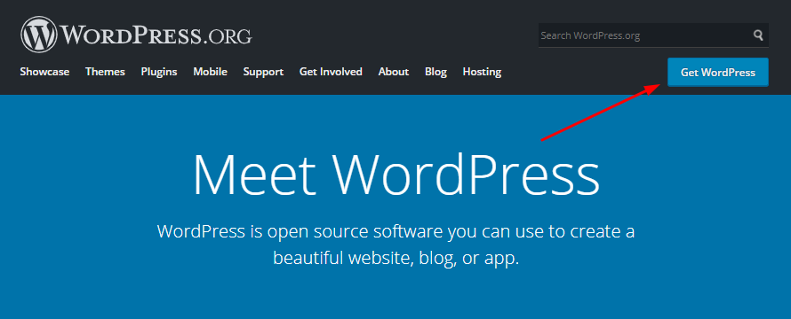 Download latest wordpress