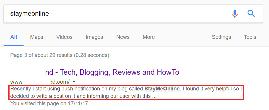 Case study, staymeonline
