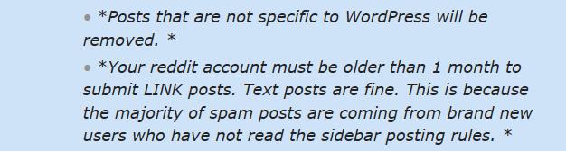Reddit Rules