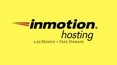 Inmotion Hosting Start From 2.95/Month + Free Domain