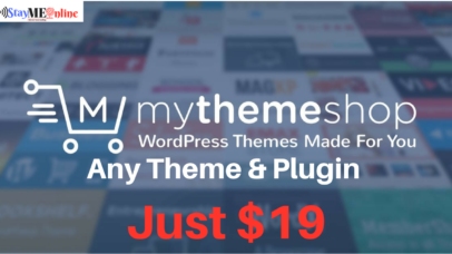 Get Any Premium Theme & Plugin At Just $19 By MyThemeShop