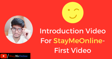 Introduction Video For StayMeOnline- First Video