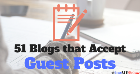 List Of 65 Blogs That Accept Guest Posts (Education+Food Added)