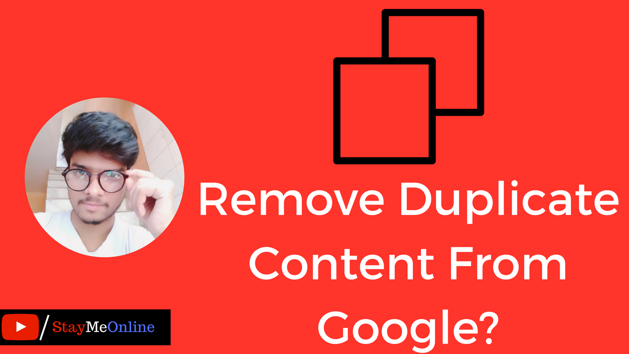 Remove Duplicate Content From Google_