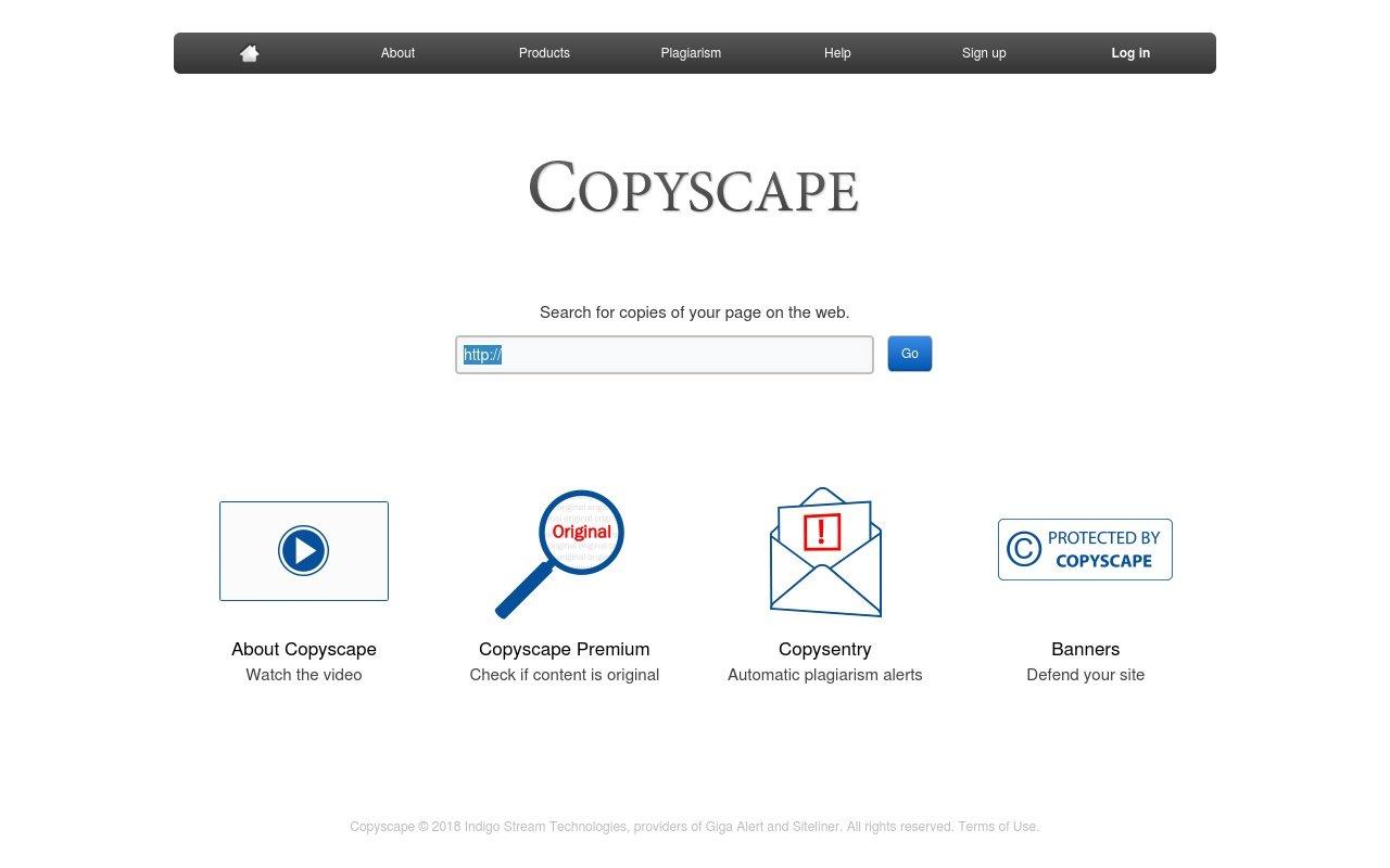 remove duplicate content - Copyscape