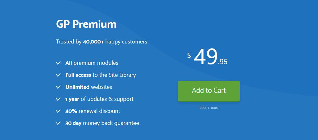 GP Premium Price