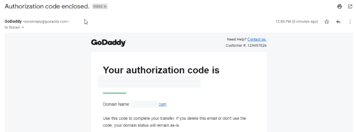Authorization Code