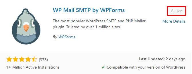 Install WP Mail SMTP