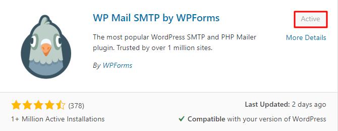 Install WP Mail SMTP