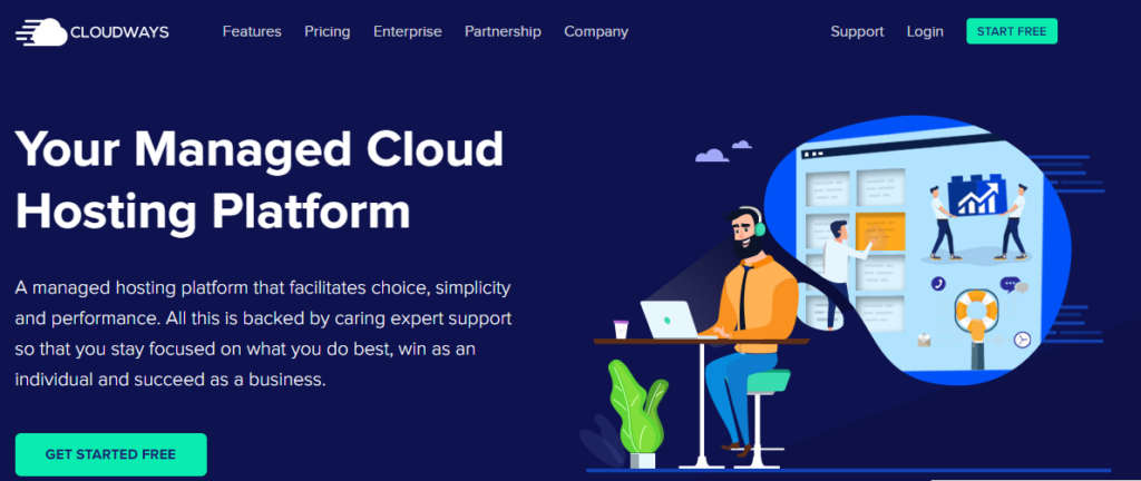 Cloudways Official Website