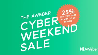 AWeber Black Friday Deal