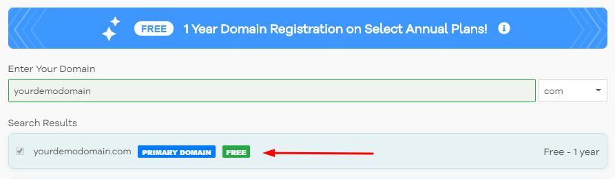 Get Free Domain HostGator