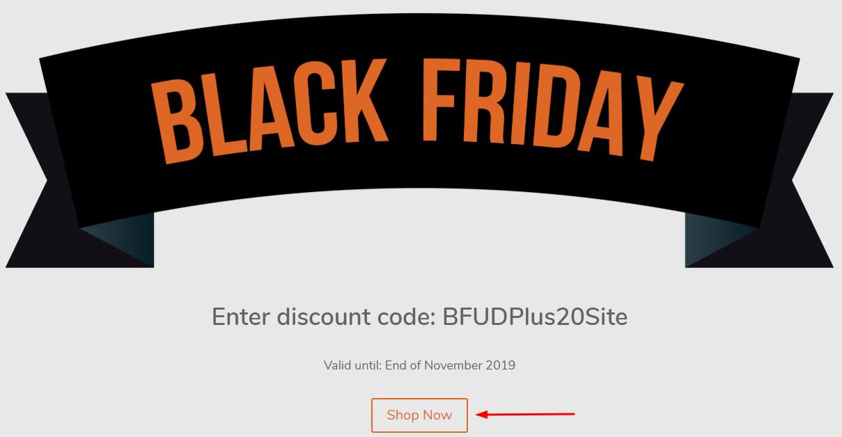 UpdraftPlus Black Friday Offer