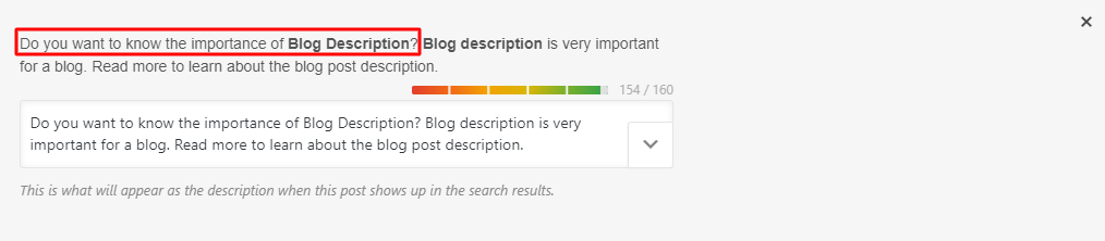 Blog Description: Effective Tips To Write Perfect Description In 2020