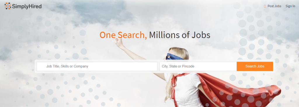 SimplyHired Job search engine