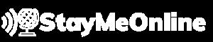 StayMeOnline White Logo