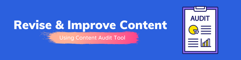 SEMrush Content Audit tool