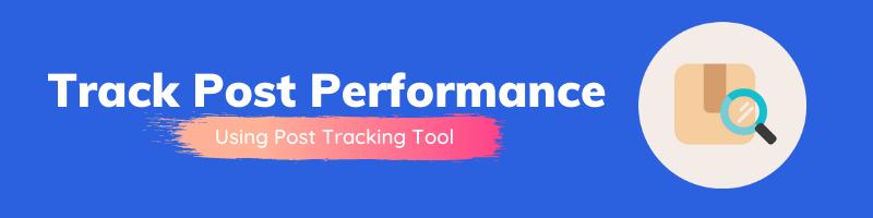 SEMrush Post tracking tool`