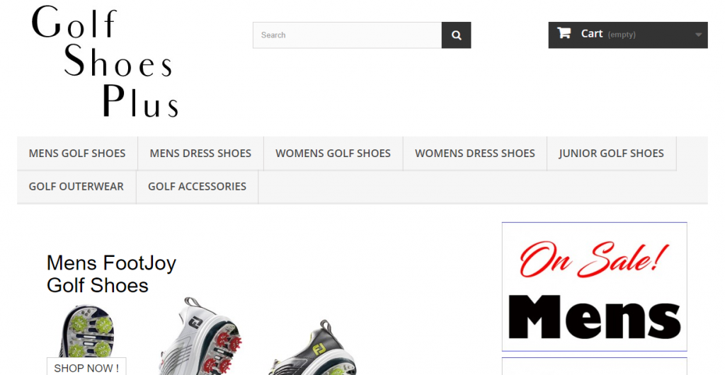 Golf Shoes Plus Affiliate Program
