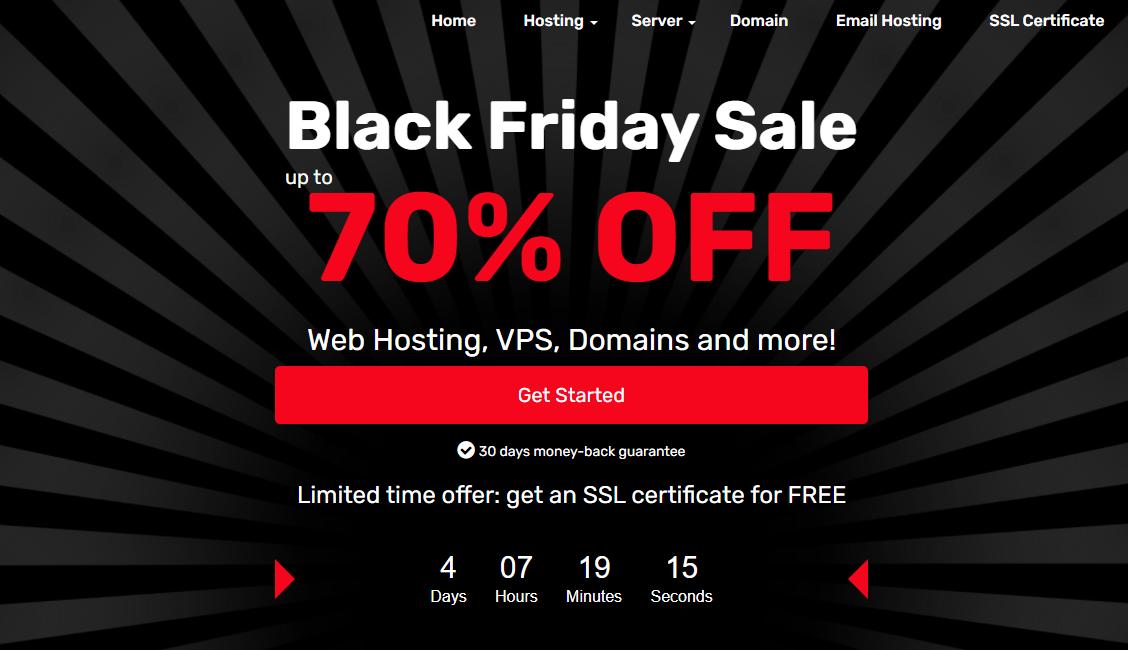 ExonHost Black Friday Deal