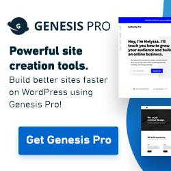 Genesis Pro Black Friday deal