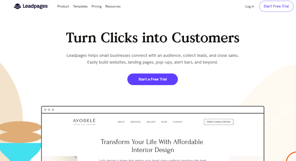 Leadpages Unbounce alterntive