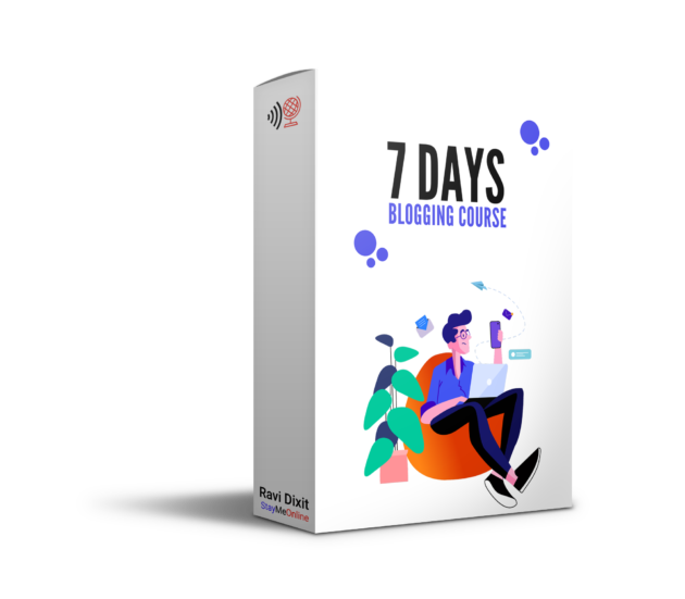 StayMeOnline 7-days blogging course