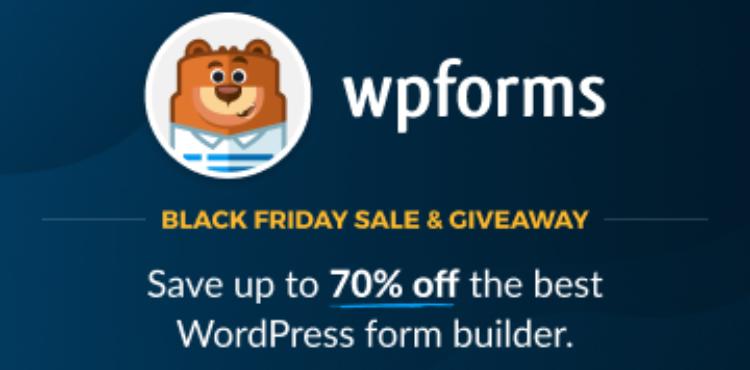 WPForms Black Friday Deal